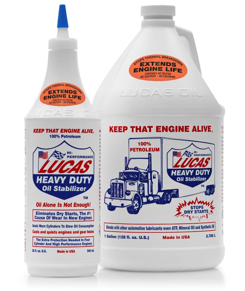 Stabilizzatore olio  Lucas Oil Additivo da Officina