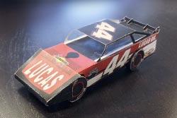 Earl Pearson Jr.  Race Stampare e Ritagliare